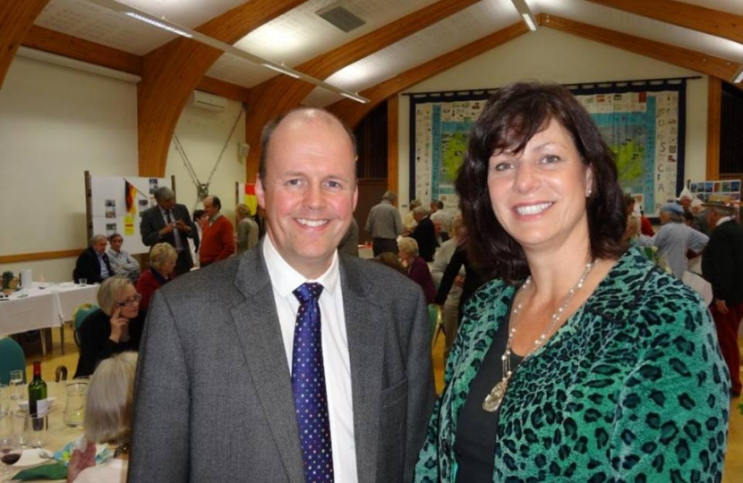 Mr. Ashley Fox MEP & Mrs. Claire Perry MP