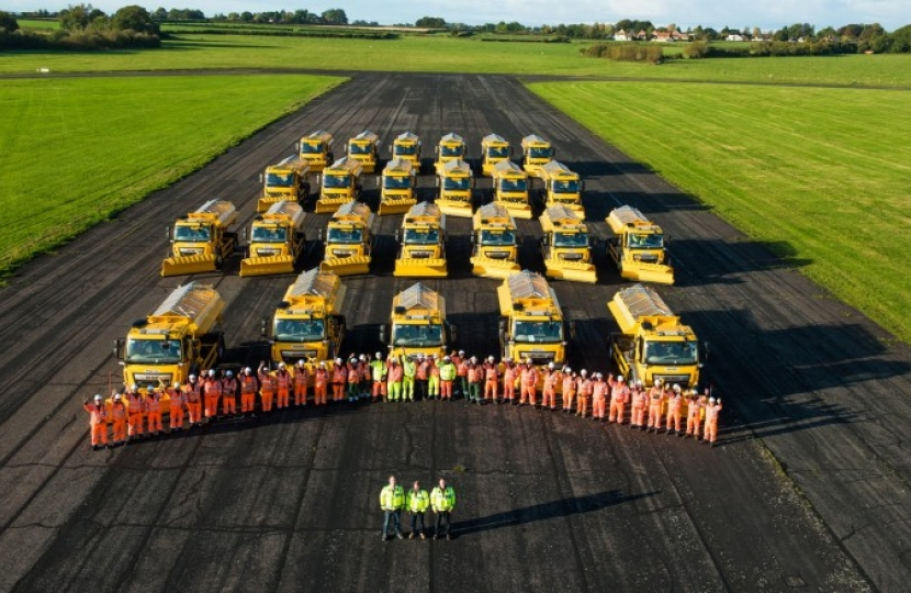 Wiltshire Council Road Gritters