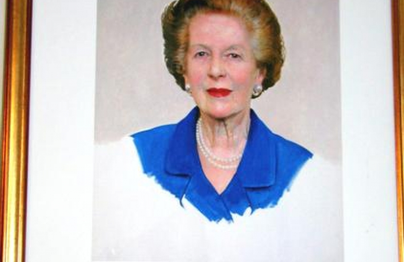 The limited edition print of Rt. Hon. Baroness Thatcher, LG, DM
